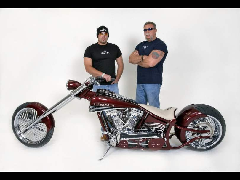 The Teutuls with the 2006 Lincoln Mark LT Chopper