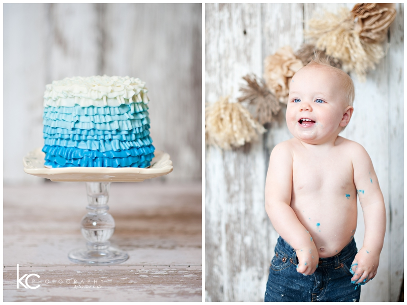 Liam Turns 1 | Smash Cake Child Photographer