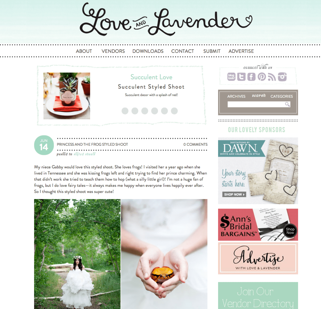 Love and Lavender Feature | Utah Wedding Photographer