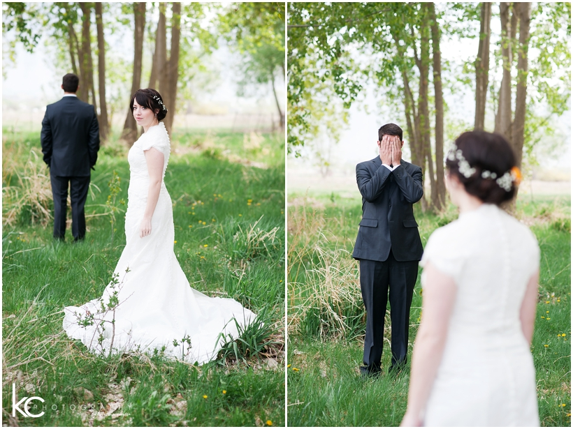 Kimber & Jason Groomals | Utah Wedding Photographer