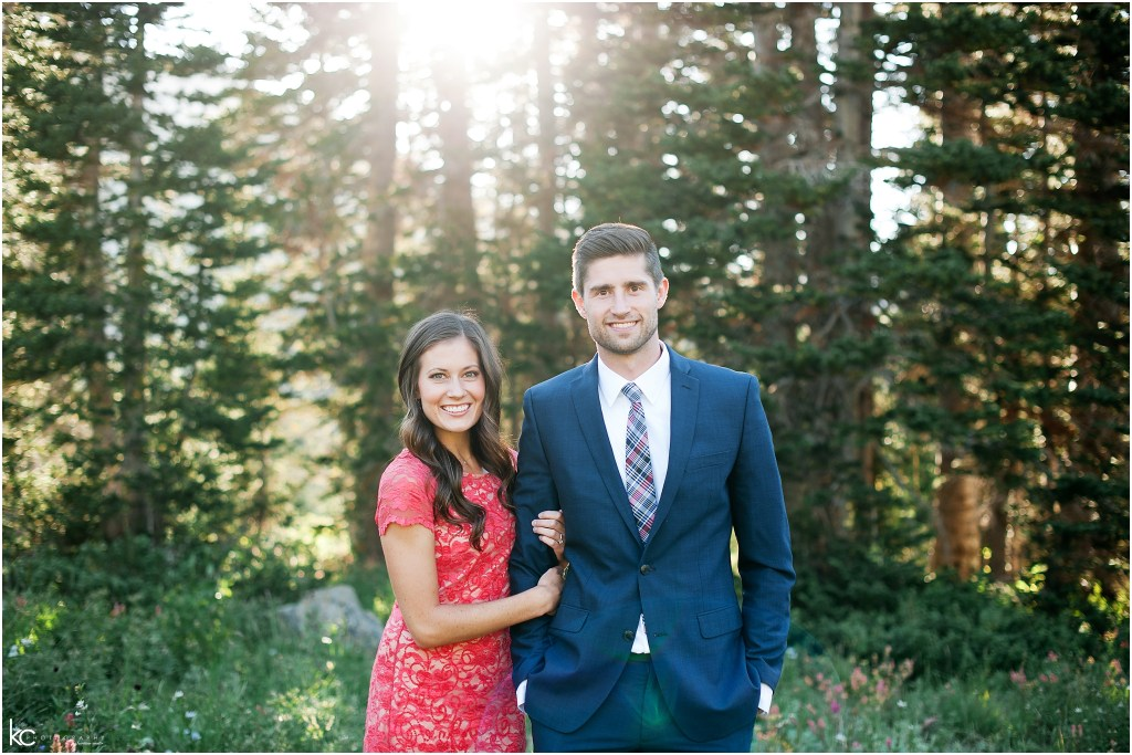 Wild Flowers Engagements | Kristina Curtis Photography