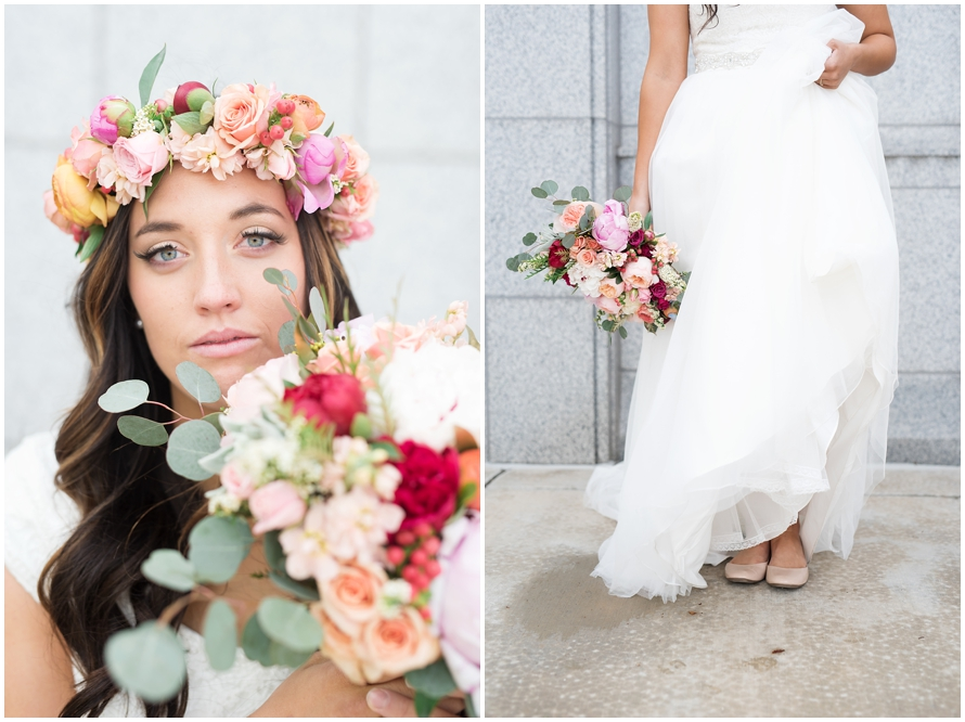 Modern and Rustic Draper Wedding | Utah Kristina Curtis Photography