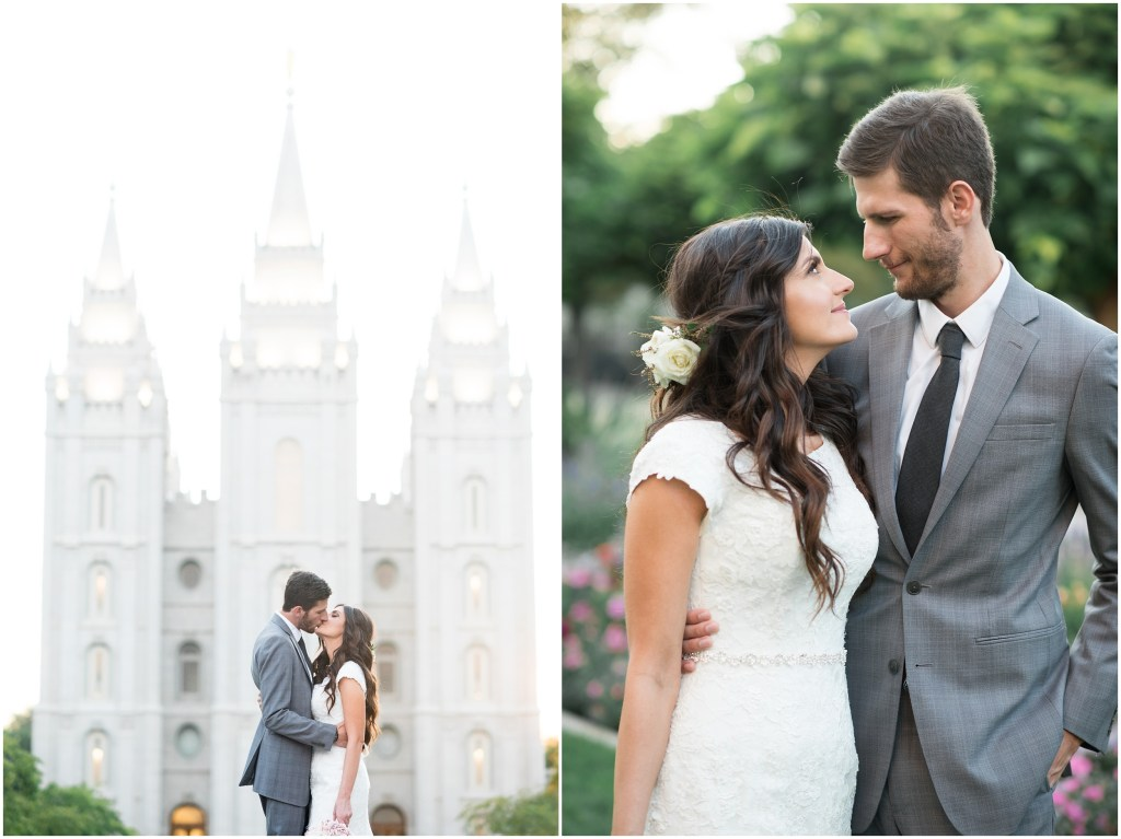 Salt Lake Le Jardin Wedding | Kristina Curtis Photography