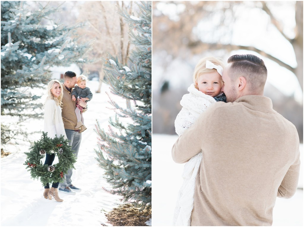 Winter Family Session | Kristina Curtis Photography