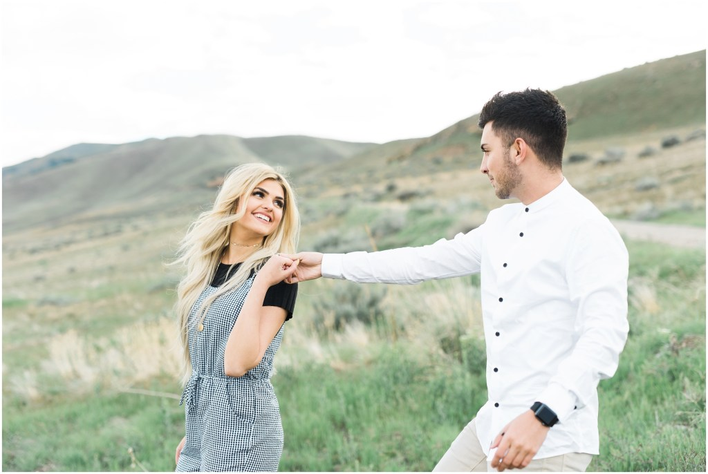 Utah Mountaintop Engagements | Kristina Curtis Photography