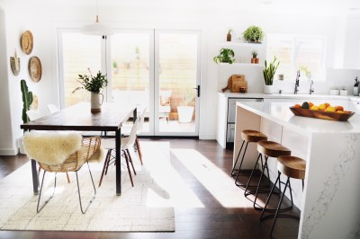 sunny kitchen/dining