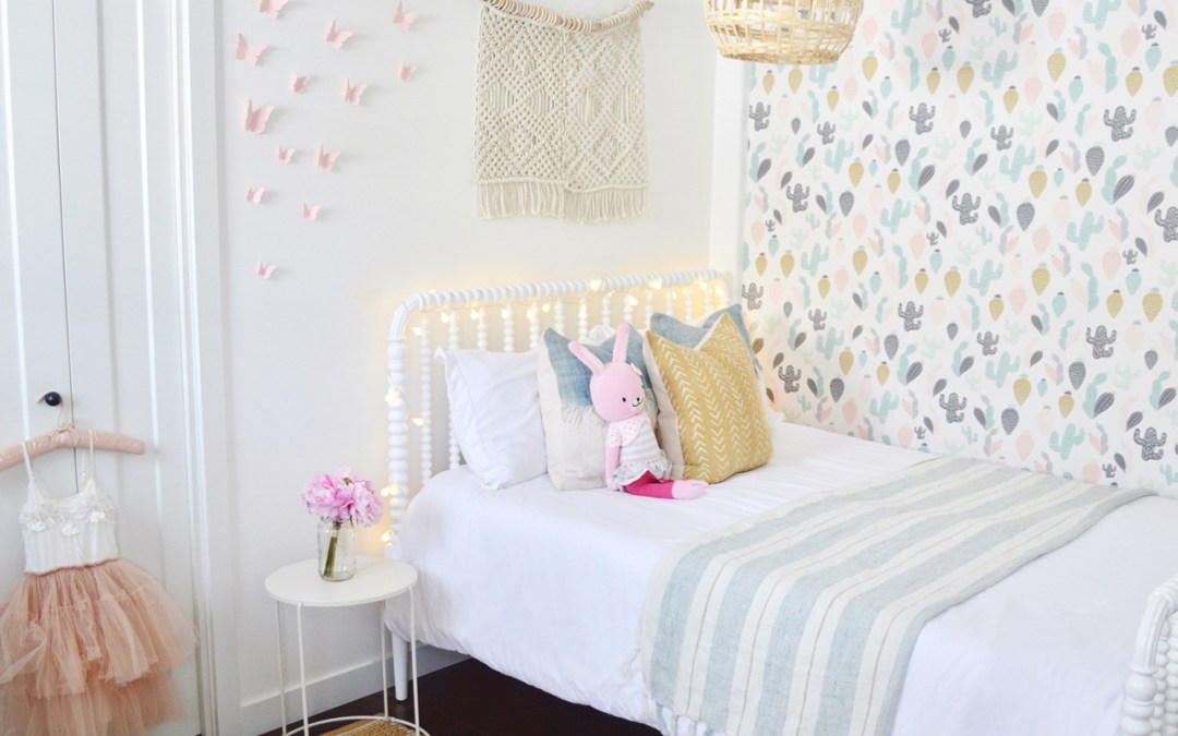 Tegan's big girl bedroom reveal