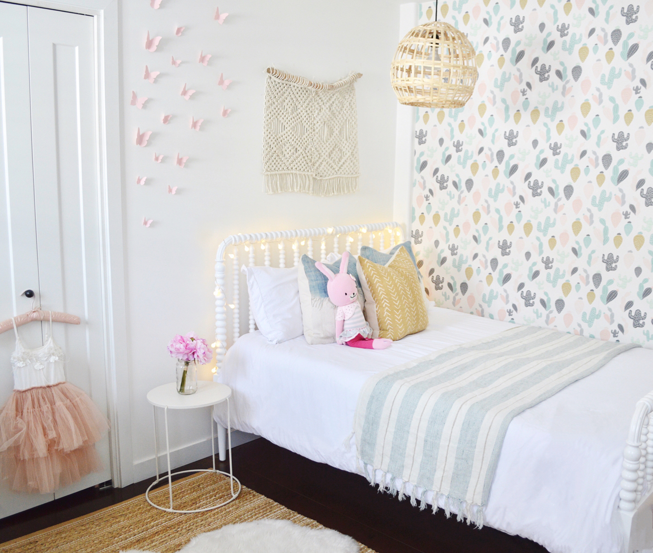 Tegan\'s big girl bedroom reveal – Kristin Dion Design