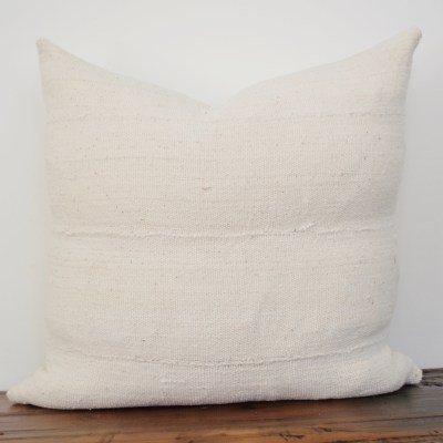 classic vintage white mudcloth