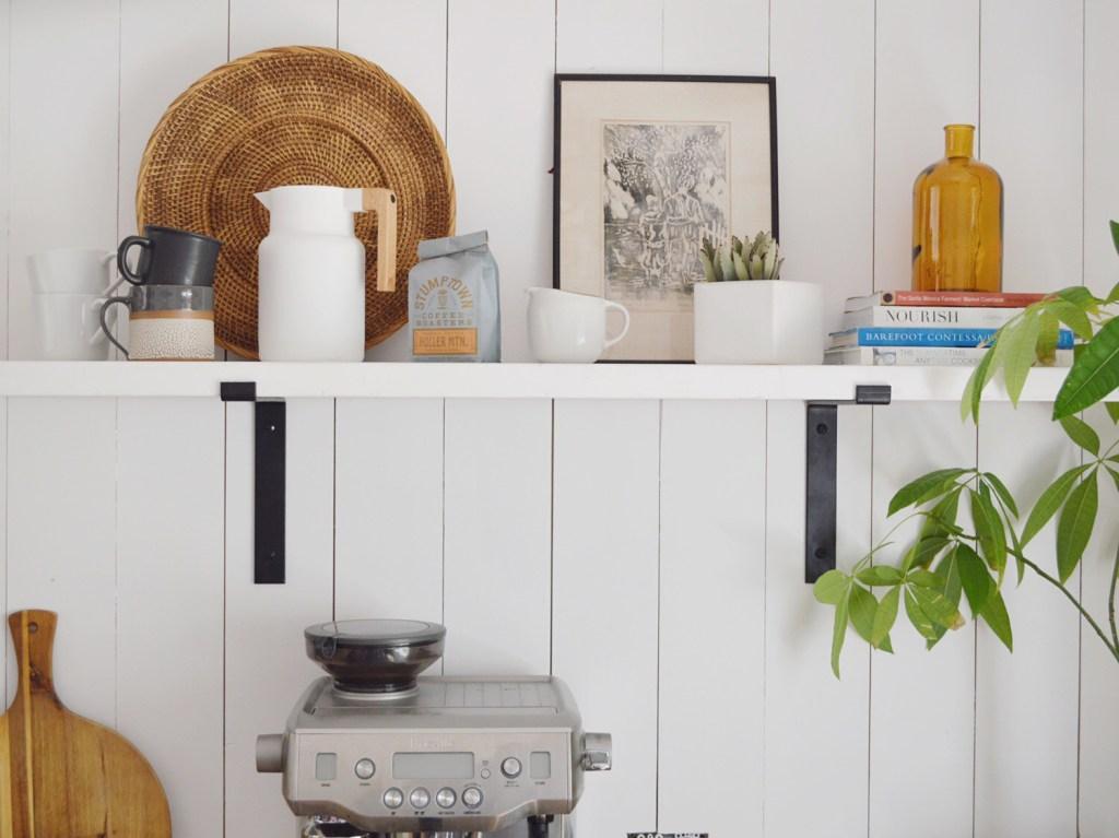 Kristin Dion Kitchen Remodel After Photo Open Shelf