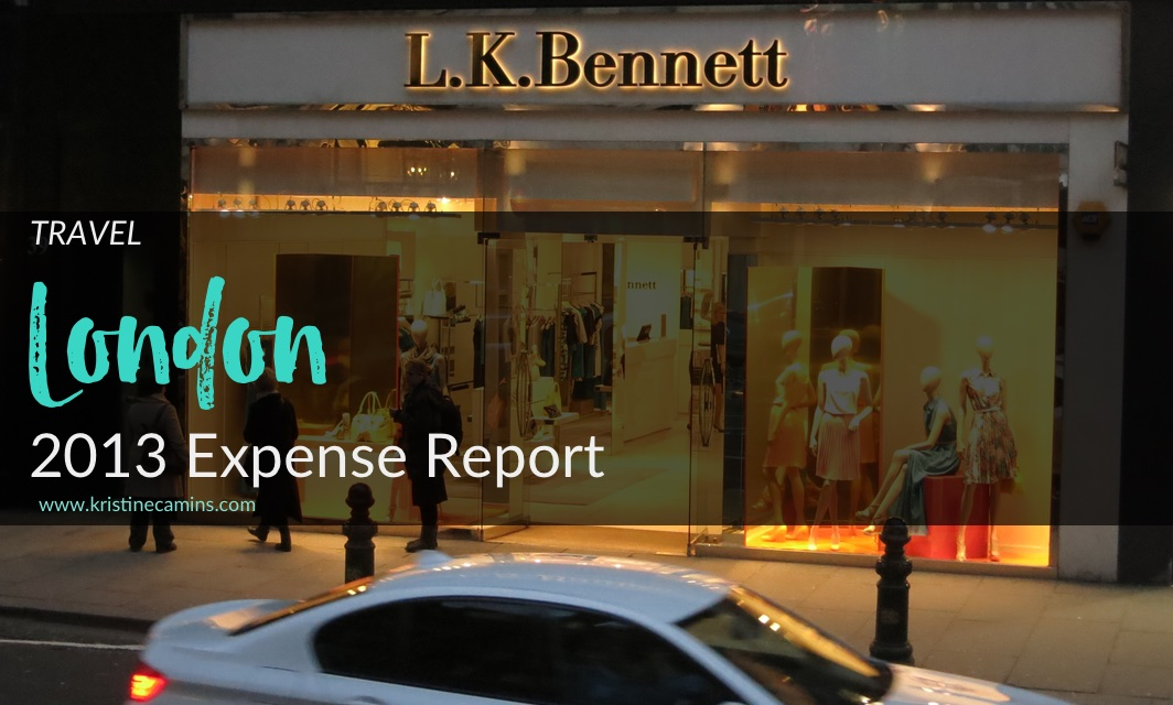 The London Expense Report