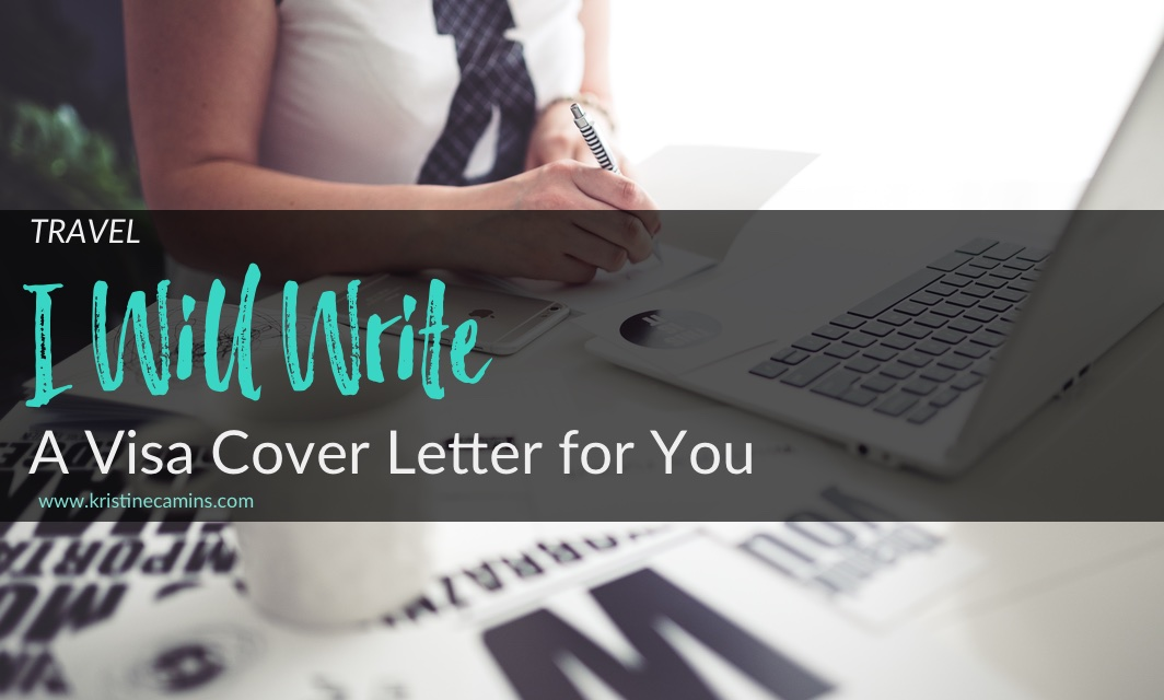 Schengen Visa Sample Cover Letter (and Letter Writing Services)