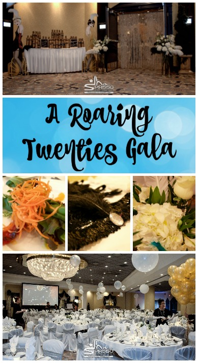 Decor ideas for Roaring Twenties gala or event. So glam, so classy, and so fun!