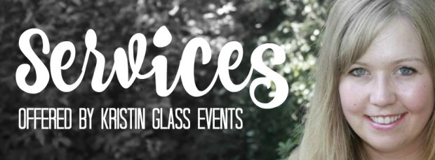 Services offered by Kristin Glass Events - What Does An Event Planner Do?