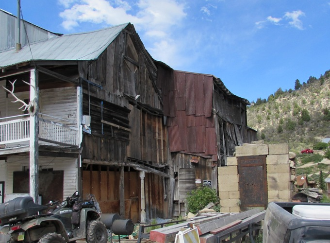 Images Silver City Idaho Buildings