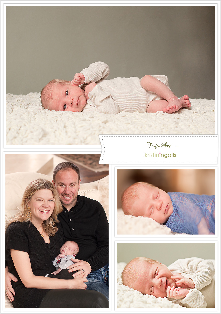 Kirkland Newborn Photography by Kristin Ingalls