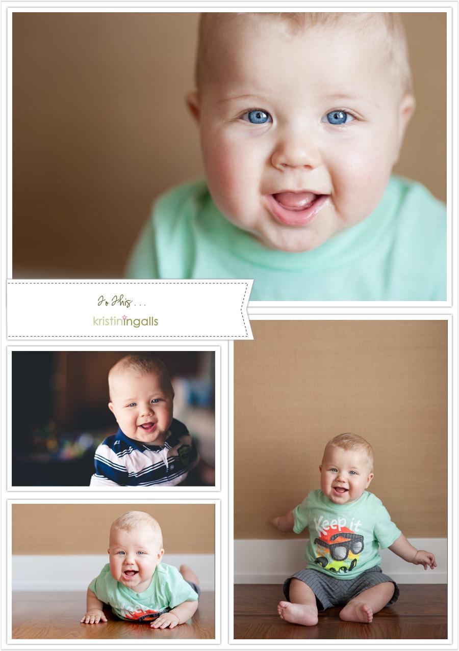 Seattle Eastside Kirkland Baby Portraits by Kristin Ingalls