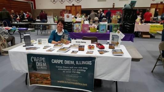 Edgerton Book Festival table