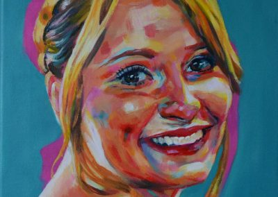 Polly – acrylic on canvas