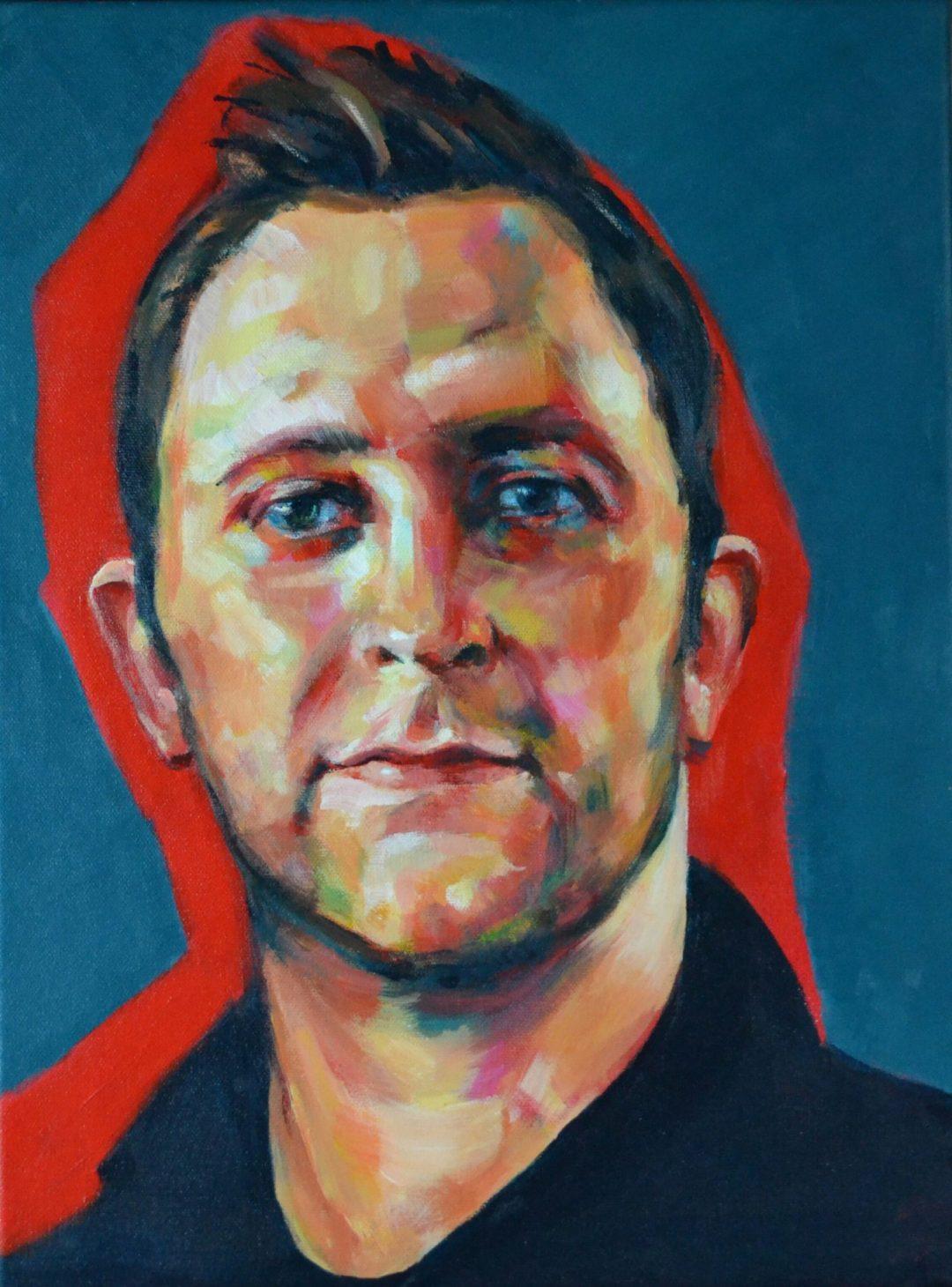 George - acrylic on canvas