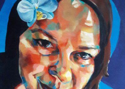 Kaz – acrylic on canvas