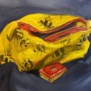Oil paintings on paper
