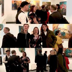 My experience of my first solo exhibition