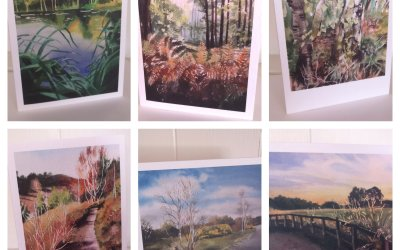 Yateley Greetings cards