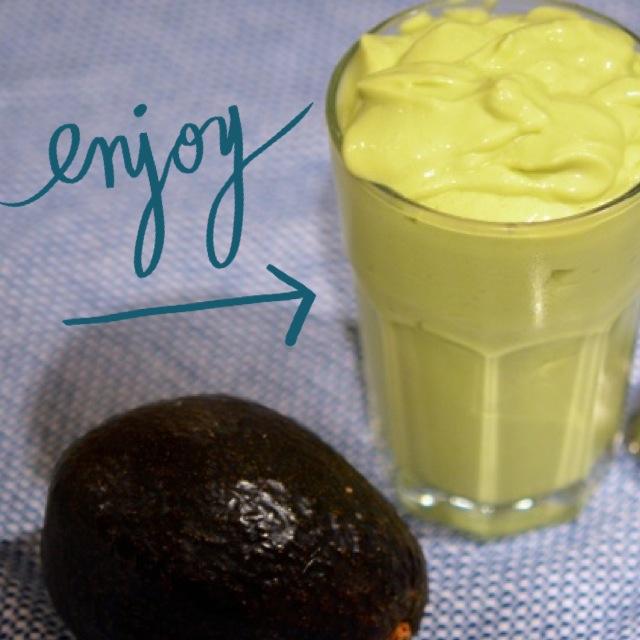 instagram Avocado Coconut Cream Dream Recipe