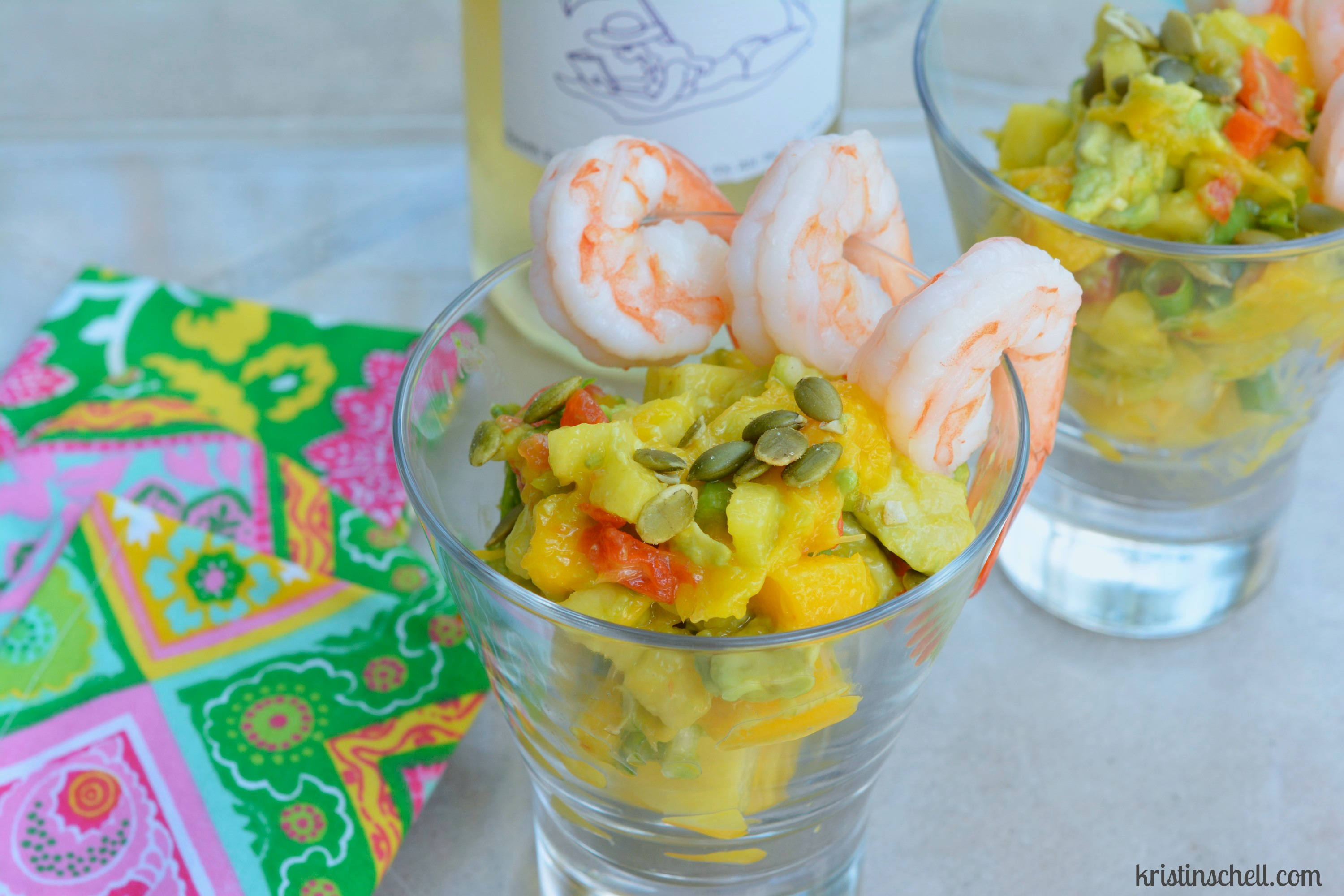 Shrimp with Mango & Avocado Salsa - The Turquoise Table