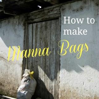 31 Days: Lunch Sacks & Manna Bags