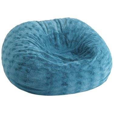 Fuzzy Bean Bag Chair from Pier 1 Imports | a must for children in a spica cast | great for playroom too | kristinschell.com