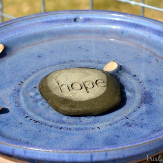When you need a little hope