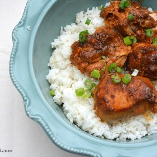 Curried Chicken with Ginger & Yogurt (Slow Cooker)