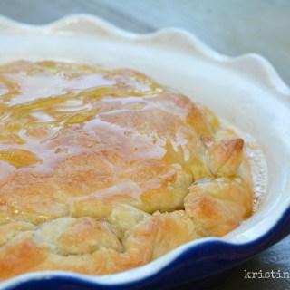 Honey & Garlic Baked Brie