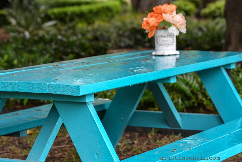 The Turquoise Table | When Days Aren't Sunny & Bright | kristinschell.com