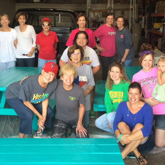We Attend Celebration Church In Georgetown Tx And Learned Of The Turquoise  Table Story Yesterday. We Ran Out And Got A Table And Paint.
