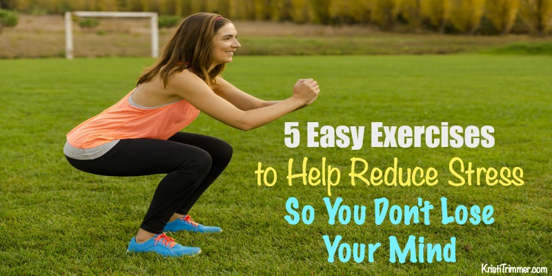 5 easy exercises to help reduce stress