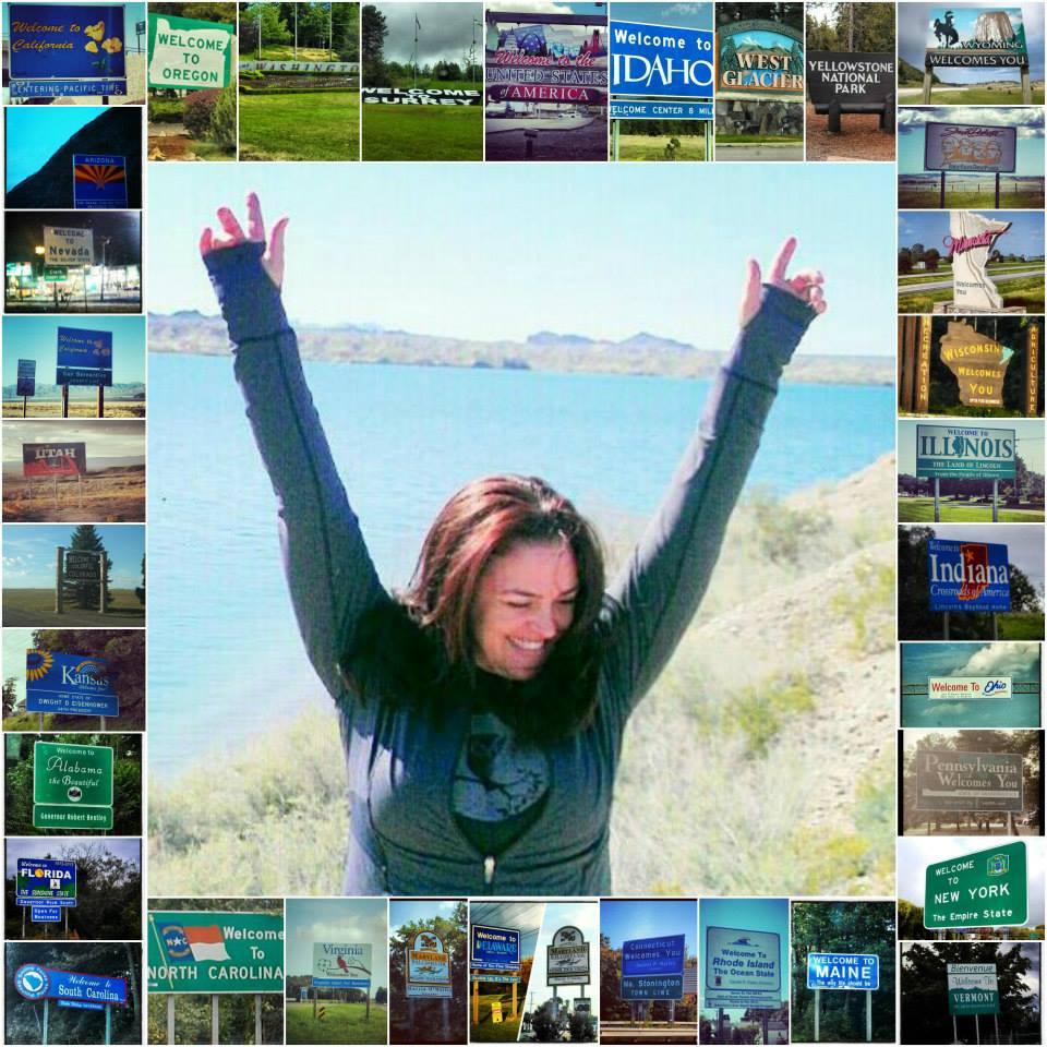 Kristi Around The US