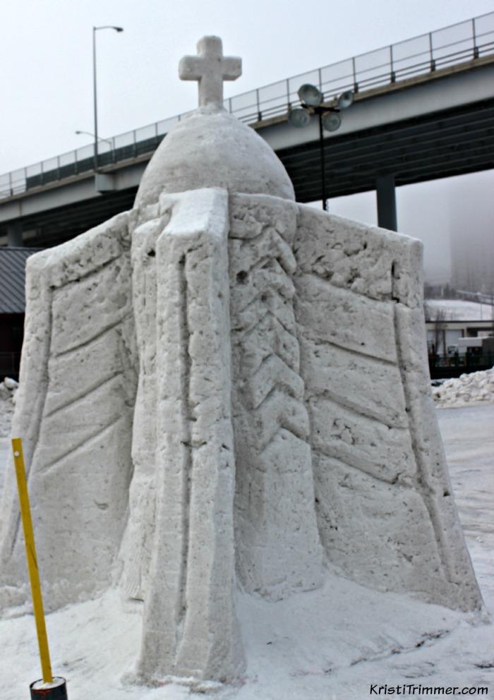 Fur Rondy_Snow Cross Building