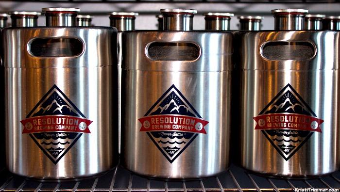 RBC - 64oz Stainless Steel Kegs