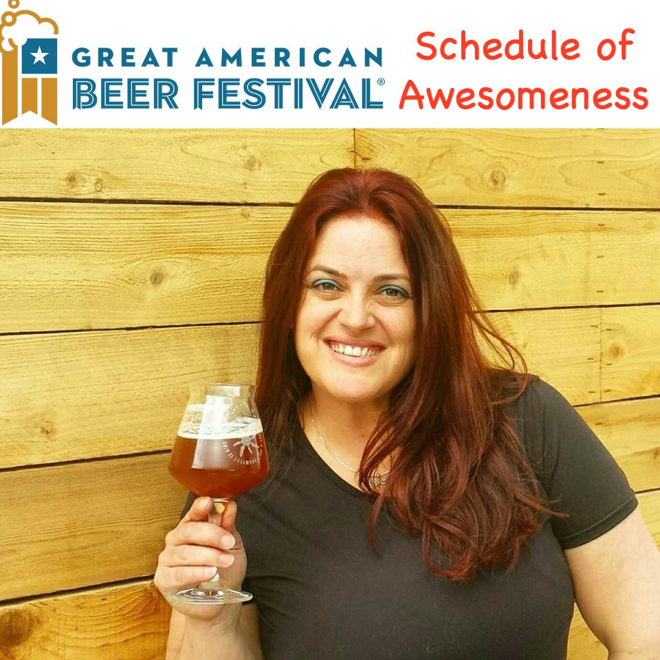 GABF Schedule of Awesomeness