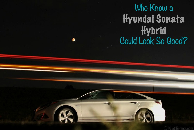 Who Knew a Hyundai Sonata Hybrid Could Look So Good