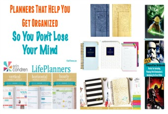 Planners That Help You Get Organized So You Don't Lose Your Mind
