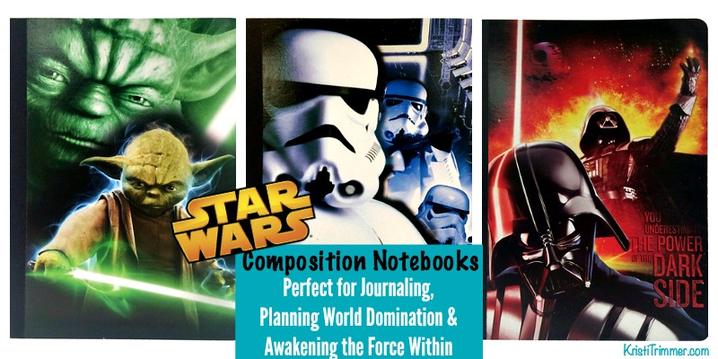 Star Wars Composition Notebooks