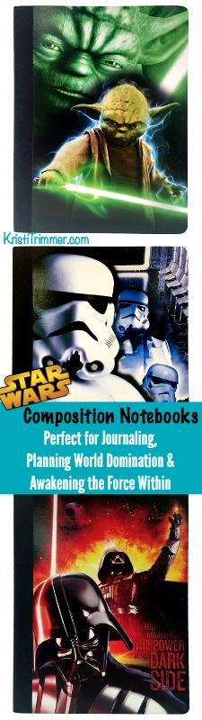 Star Wars Composition Notebooks PT