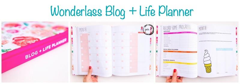 Wonderlass Blog Planner