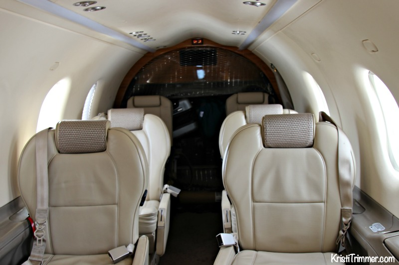 Boutique Private Plane - Inside