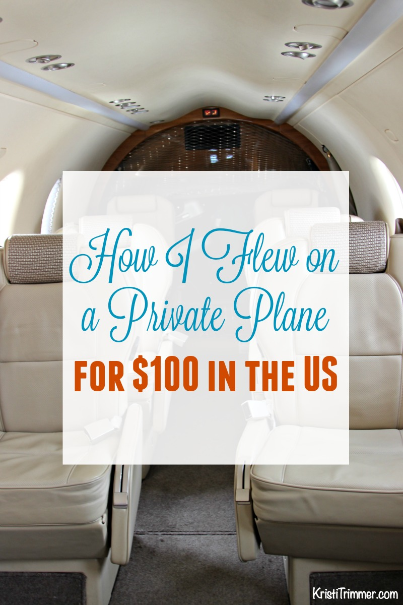 How I Flew on a Private Plane for $100 in the US PT