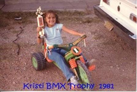 Kristi BMX Trophy